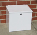 lab box, lab specimen box, courier box, lock box